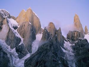 The Trango Group in the Karakoram Mountains by Bill Hatcher