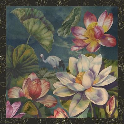 Lotus and Crane