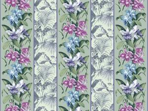 Orchid Panel Toile Frost by Bill Jackson