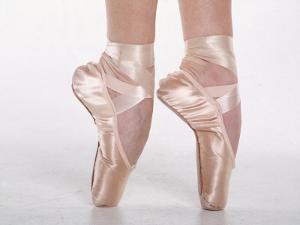 Feet of Dancing Ballerina by Bill Keefrey