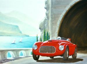 Ferrari Barchetta Roadster by Bill Northup
