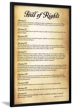 Bill of Rights - U.S.A
