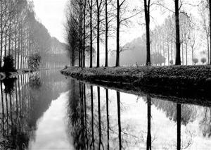 Canal, Normandy, France by Bill Philip