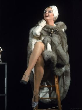 Angela Lansbury in Role of Mame by Bill Ray