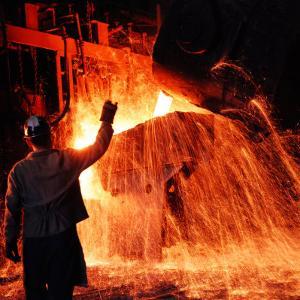 Compania de Acero Del Pacifico Steel Mill, Chile by Bill Ray