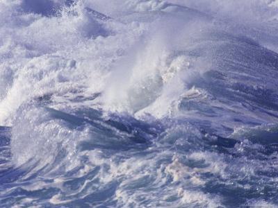 Waves, Waimea, North Oahu by Bill Romerhaus