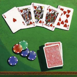 Poker by Bill Romero