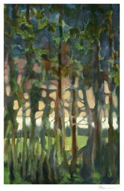 Through the Trees II by Bill Rose
