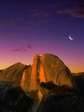 Half Dome at Twilight by Bill Ross