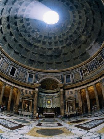 Interior of Pantheon by Bill Ross