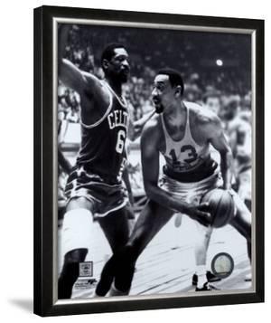Bill Russell and  Wilt Chamberlain