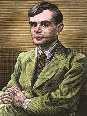 Alan Turing, British Mathematician by Bill Sanderson
