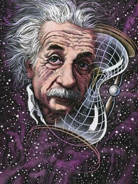 Albert Einstein, German Physicist by Bill Sanderson