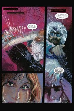 30 Days of Night: Beyond Barrow - Comic Page with Panels by Bill Sienkiewicz