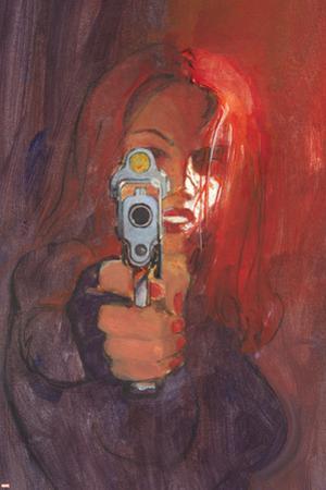 Black Widow 2 No.2 Cover: Black Widow by Bill Sienkiewicz