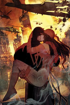 Daredevil No. 7 Cover Art Featuring: Daredevil, Elektra