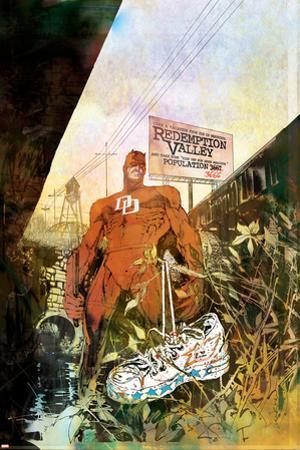 Daredevil: Redemption No.1 Cover: Daredevil