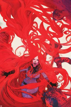 Uncanny Inhumans No. 6 Cover Featuring Medusa