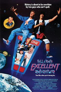 Bill & Ted's Excellent Adventure - Key Art