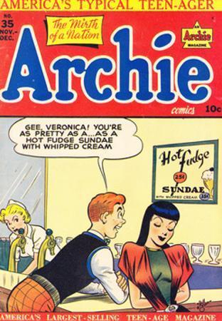 Archie Comics Retro: Archie Comic Book Cover No.35 (Aged)