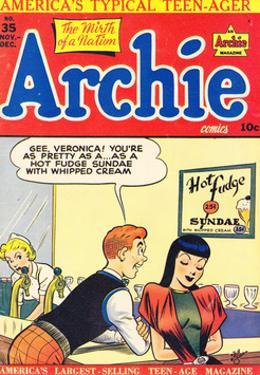 Archie Comics Retro: Archie Comic Book Cover No.35 (Aged) by Bill Vigoda