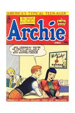 Archie Comics Retro: Archie Comic Book Cover No.35 (Aged) by Bill Vigoda