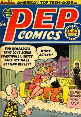 Archie Comics Retro: Pep Comic Book Cover No.94 (Aged) by Bill Vigoda