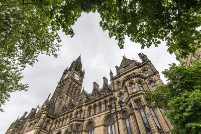 Manchester Town Hall, Manchester, England, United Kingdom, Europe