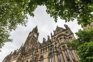 Manchester Town Hall, Manchester, England, United Kingdom, Europe by Bill Ward