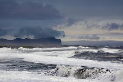 Vik Beach, Iceland, Polar Regions by Bill Ward