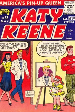Archie Comics Retro: Katy Keene Comic Book Cover No.22 (Aged)