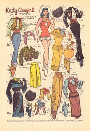 Archie Comics Retro: Katy Keene Cowgirl Fashions (Aged)