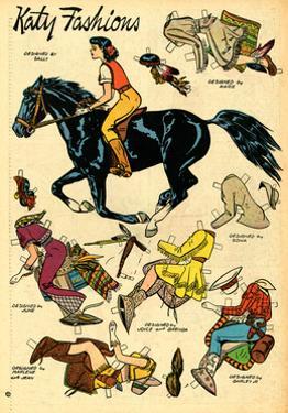 Archie Comics Retro: Katy Keene Cowgirl Fashions (Aged) by Bill Woggon