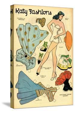 Archie Comics Retro: Katy Keene Fashions (Aged) by Bill Woggon