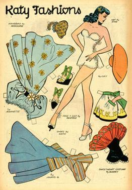 Archie Comics Retro: Katy Keene Fashions (Aged) by Bill Woggon
