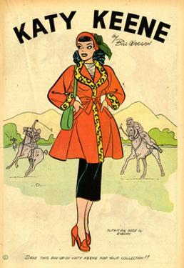 Archie Comics Retro: Katy Keene Pin-Up (Aged) by Bill Woggon