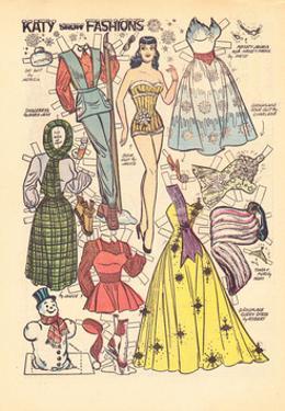 Archie Comics Retro: Katy Keene Snow Fashions (Aged) by Bill Woggon