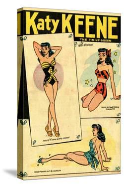 Archie Comics Retro: Katy Keene The Pin-Up Queen (Aged) by Bill Woggon