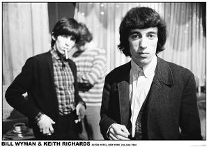 Bill Wyman and Keith Richards