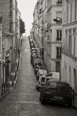 France, Paris. City Street Scene by Bill Young