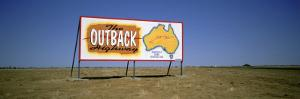 Billboard on a Landscape, Outback, Australia
