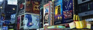 Billboards on Buildings in a City, Times Square, New York City, New York State, USA