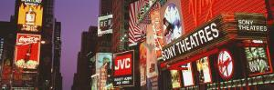 Billboards on Buildings, Times Square, New York City, New York State, USA