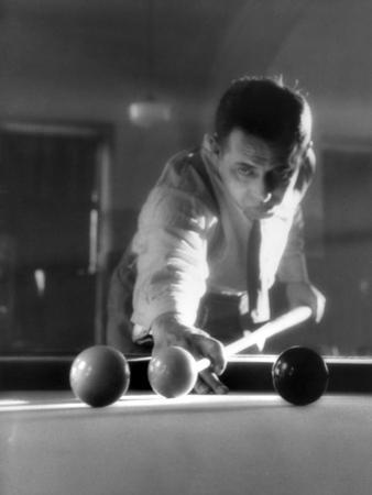 Billiards Player 1930S
