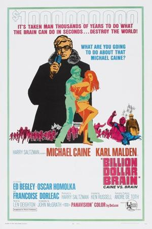 Billion Dollar Brain, Michael Caine, 1967