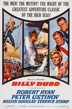 Billy Budd, Robert Ryan, Peter Ustinov, Terence Stamp, 1962