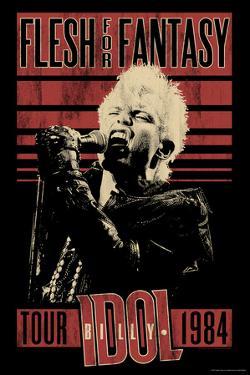Billy Idol - Flesh For Fantasy Tour, 1984
