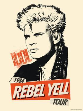 Billy Idol -Rebel Yell Tour, 1984