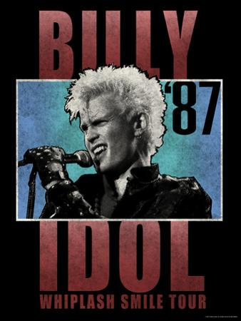 Billy Idol - Whiplash Smile Tour, 1987