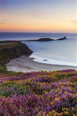 Rhossili Bay, Worms End, Gower Peninsula, Wales, United Kingdom, Europe by Billy